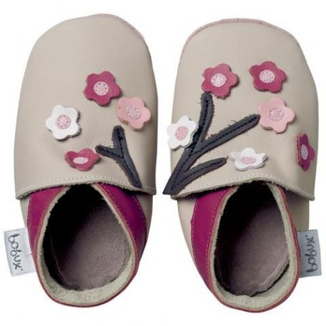 Soft sole Beige Blossom Flowers
