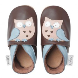 Soft sole giants chocolate owl