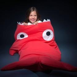 Sac de couchage enfant - Rouge