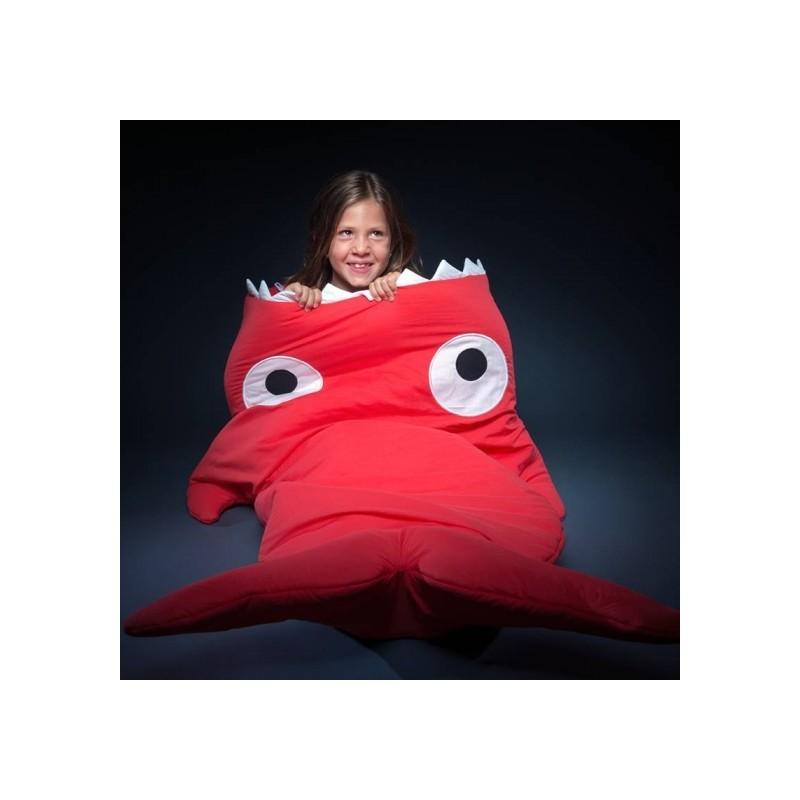 sac de couchage enfant rouge plan te des p 39 tits. Black Bedroom Furniture Sets. Home Design Ideas